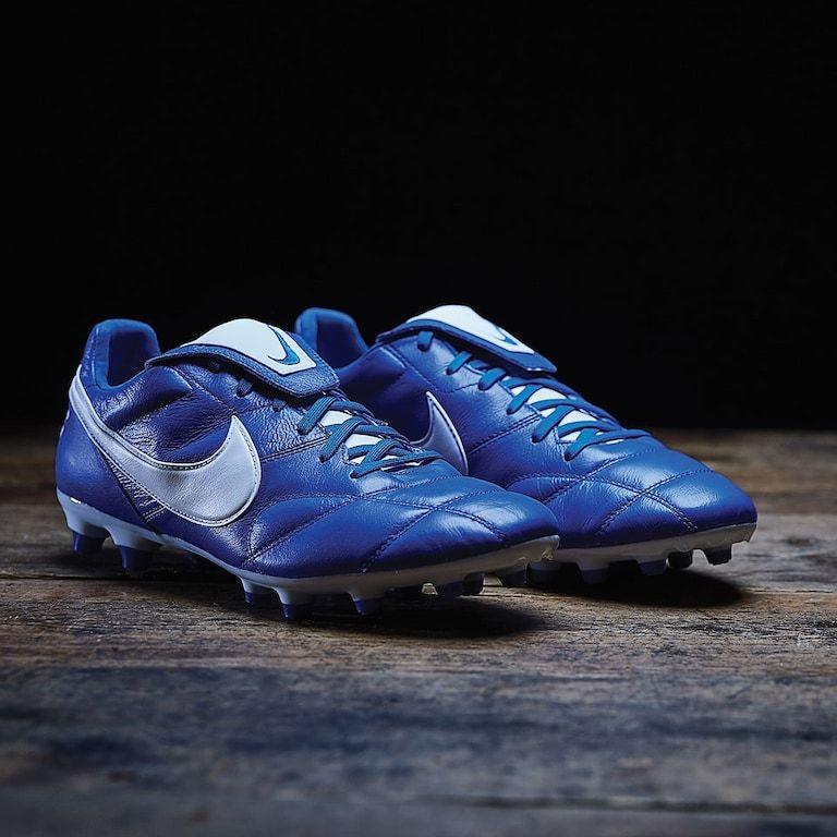 Chaussures de football Nike Premier 2.0 FG - Bleu Racer (Plusieurs tailles) - prodirectsoccer.com