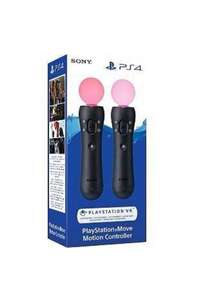 Paire de Playstation Move 4.0 (Version 2018) sur PS4