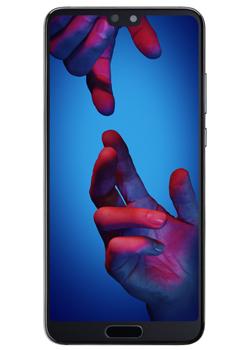 "[Abonnés Free Mobile] Smartphone 5.8"" Huawei P20 - 128 Go, Noir + Écouteurs Huawei Freebuds"