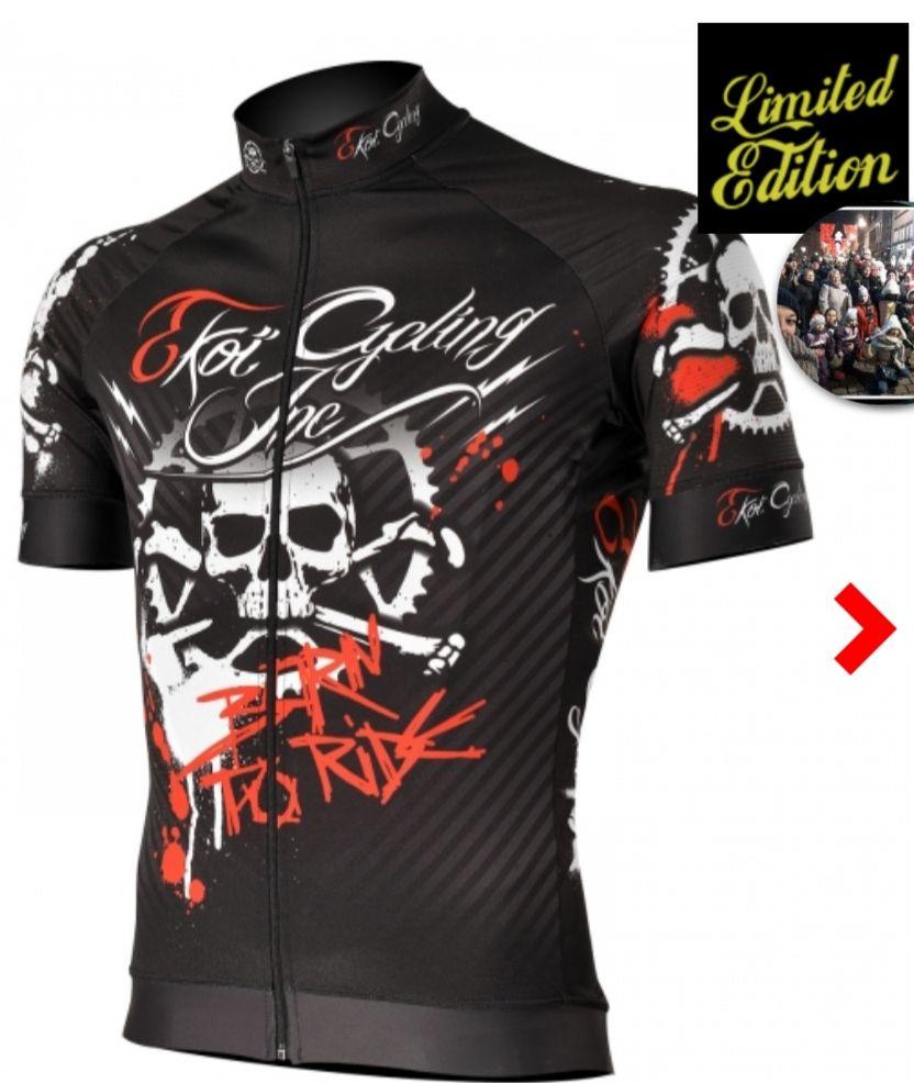 Sélection de maillots ekoï en promotion - Ex : Maillot Born to ride - Taille L