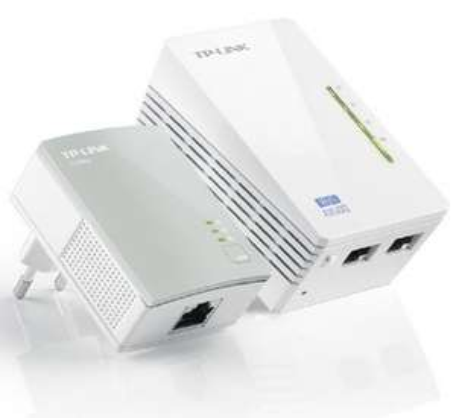Pack de 2 Adaptateurs CPL TP-Link TL-WPA4220KIT AV500 WiFi 300Mbps (2 Ports Ethernet)