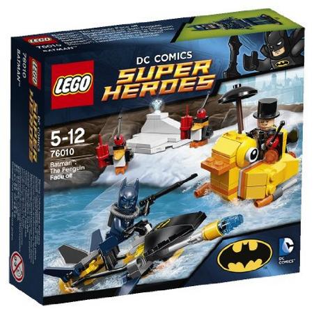 Jeu de construction Lego : Super Heroes Batman - L' Affrontement Avec Le Pingouin - n°76010