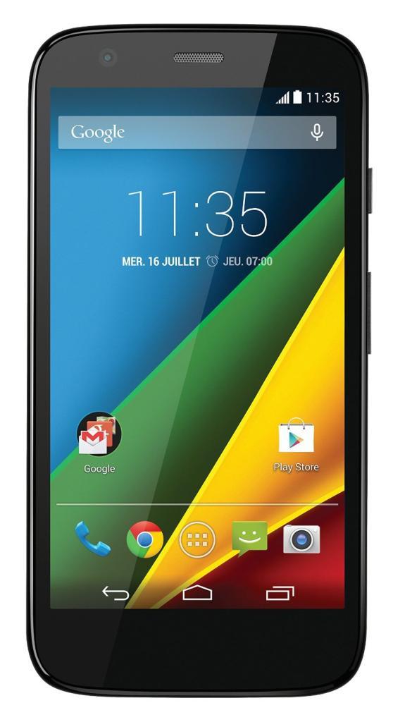 """Smartphone 4.5""""  Moto G 4G - 1ère génération (30€ ODR)"""