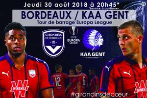 Place pour le match de Ligue Europa Bordeaux contre La Gantoise