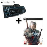 Sélection d'accessoires Gaming Logitech + The witcher 3 offert - Ex: Clavier Gaming Logitech G510S + The Witcher 3 PC