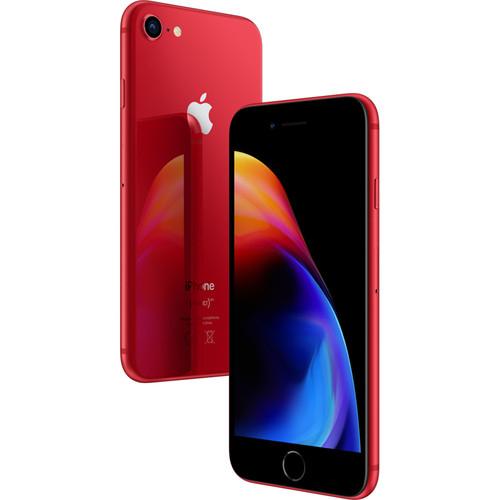 """100€ de remise immédiate sur les iPhone 8 et 8+ - Ex: Smartphone 4.7"""" Apple iPhone 8 64 Go - RED Special Edition"""