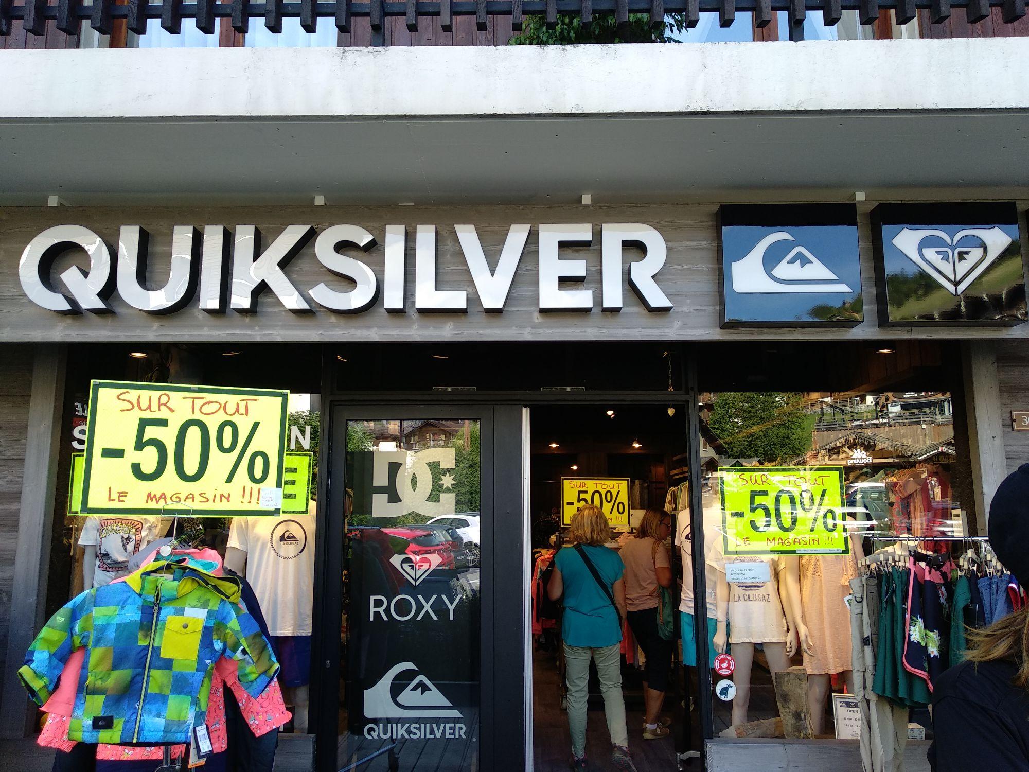 50% de réduction sur tout le magasin - La Clusaz (74)