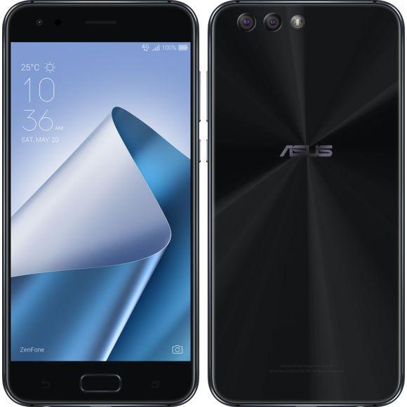 """Smartphone 5.5"""" Asus ZenFone 4 ZE554KL - Full HD, Snapdragon 630, 4 Go RAM, 64 Go, Double Sim, Android 7.0, Noir"""