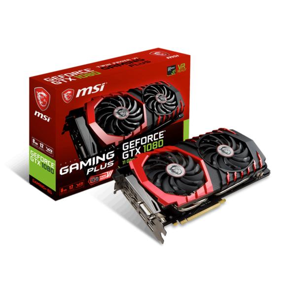 Carte Graphique MSI GeForce GTX 1080 GAMING - 8Go