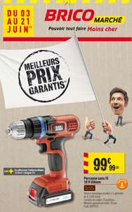 Perceuse sans fil Black&Decker 18V lithium