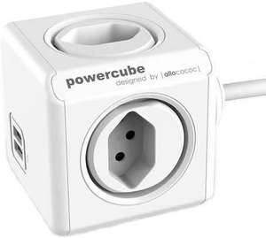 Allocacoc PowerCube Extended USB S+ (Frontaliers Suisse)