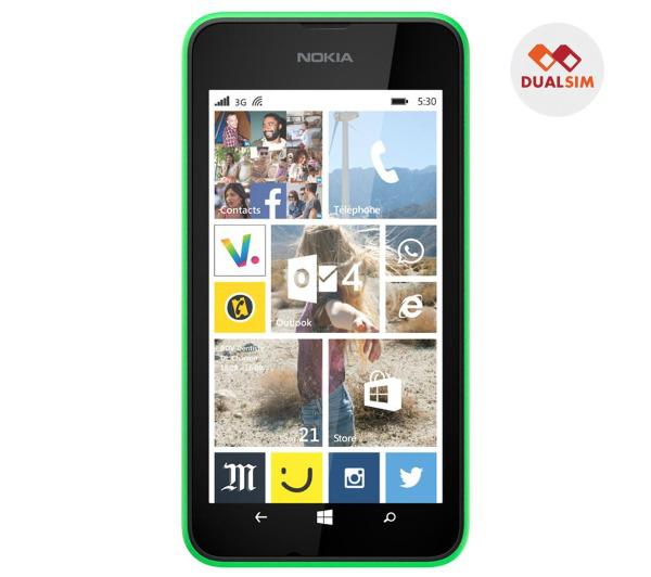 "Smartphone 4"" Nokia Lumia 530 Vert (ODR 30€)"