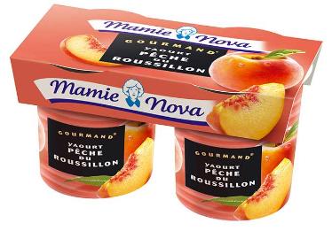 [Sous Conditions] 2 Lots de Yaourts aux Fruits Gourmands Mamie Nova Gratuits - 2 x 2 (Via Shopmium)