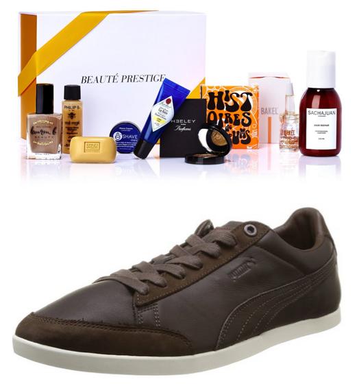 Chaussures homme Puma Catskill Citi S Cuir + Coffret Prestige