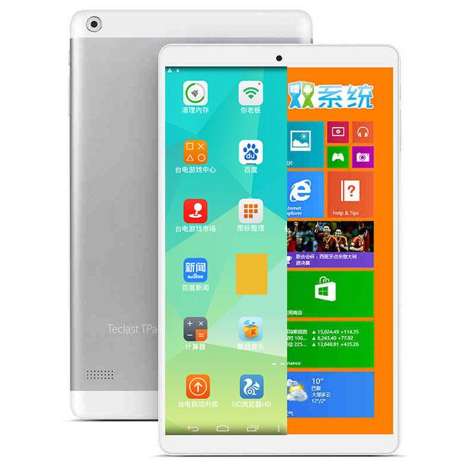 """Tablette 8"""" Teclast X80H - Windows 8.1, Android 4.4 - 2Go RAM- 32Go ROM"""