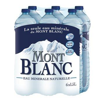 Lot de 4 Pack d'eau minérale Mont Blanc 6x1,5L  - Osny-Pontoise (95)