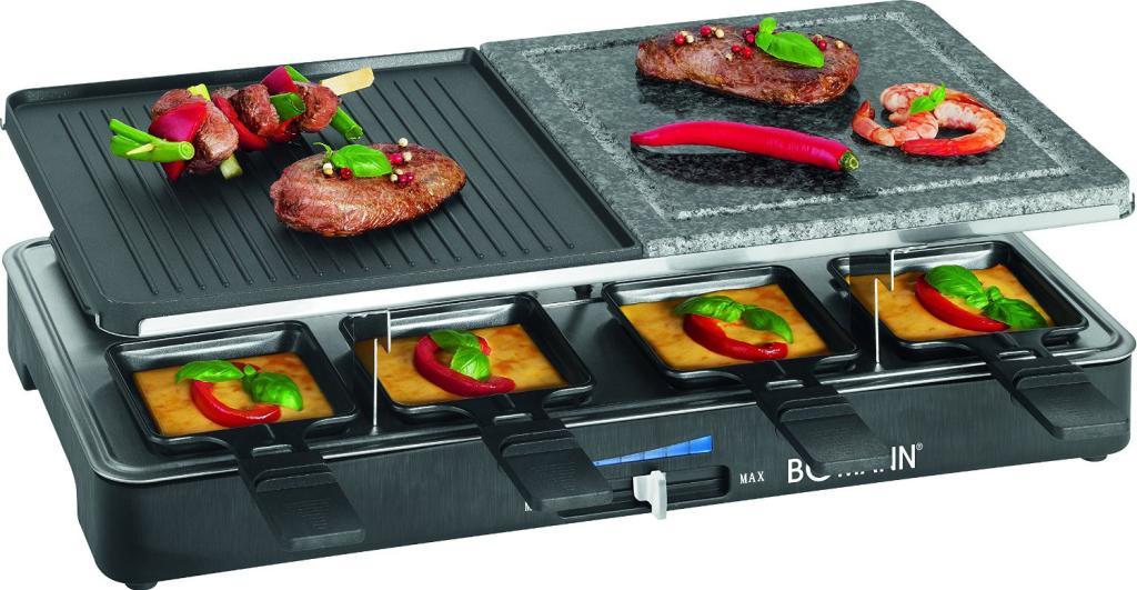 Raclette - Grill Bomann RG 2279 CB - 1400 W noir