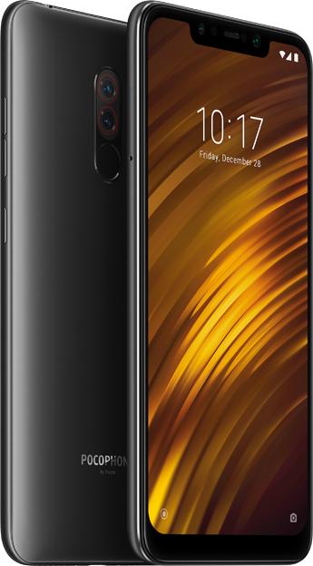 """Smartphone 6.18"""" Pocophone F1 (Global - B20) - Full HD+, Snapdragon 845, RAM 6 Go, ROM 64 Go"""