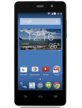 """Smartphone 4.5"""" ZTE Blade Apex 3 4G - Noir"""
