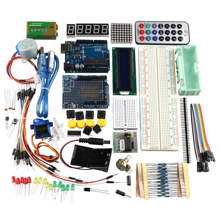 Kit d'apprentissage R3 UNO pour Arduino