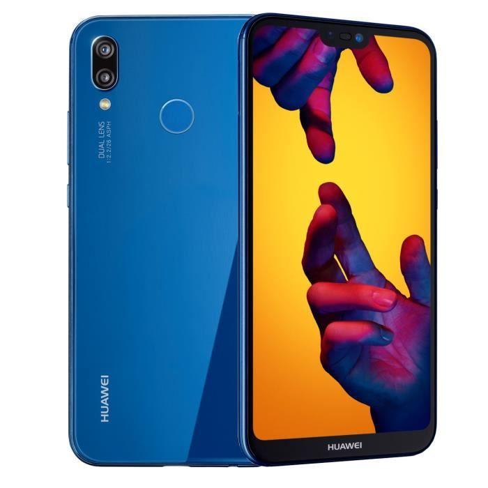 """Smartphone 5.84"""" Huawei P20 Lite - 64 Go + 30€ en chèques-cadeaux"""