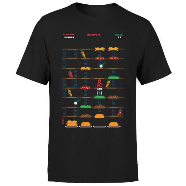 T-Shirt homme ou femme Deadpool jeu Rétro - 100% Coton