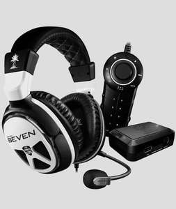 Casque Micro Gamer  TurtleBeach Xp Seven - Blanc/Noir