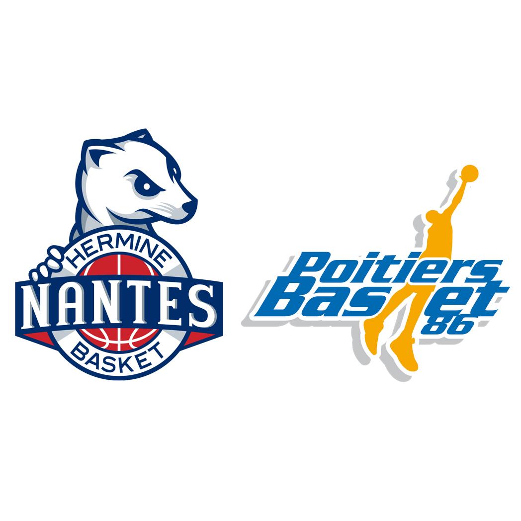 Nantes Quimper billet pour le mach de basket nantes-poitiers ou nantes-quimper - ex