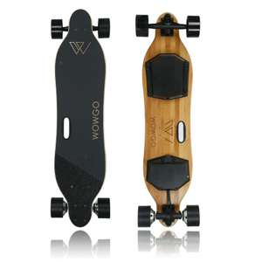 """Skateboard électriques WowGo 2S 38"""" (Frais de douanes et port inclus) - wowgoboard.com"""