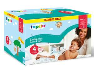 Pack de 112 Couches Lupilu Jumbo Box - Taille 3/4