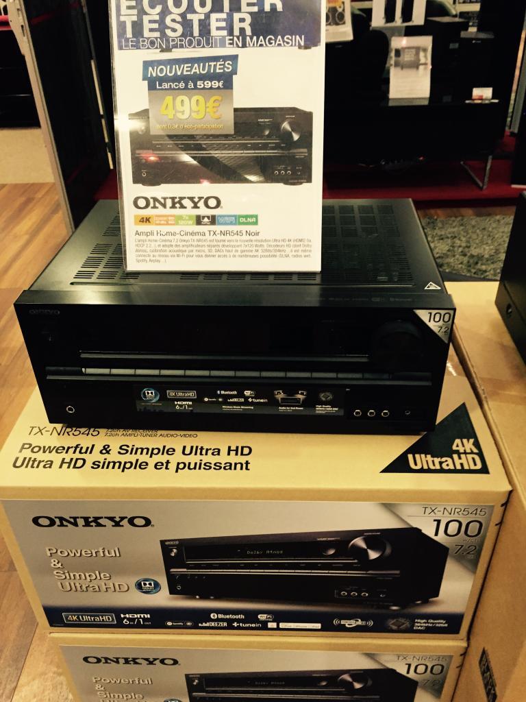 Ampli Onkyo TX-NR 545