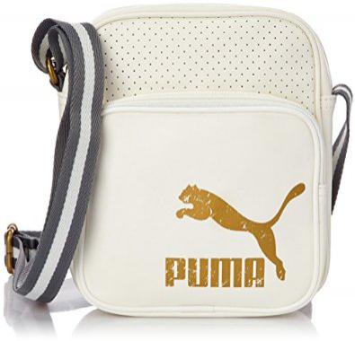 Sac sport banane Puma - Bleu ou blanc