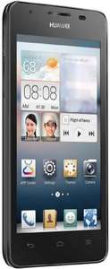 "Smartphone 4.5"" Huawei Ascend G510 4Go Android Wi-Fi Bluetooth Noir - Reconditionné"