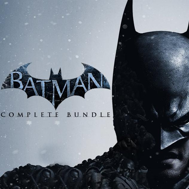 Bundle Batman Arkham Asylum GOTY + City GOTY + Origins GOTY sur PC (dématérialisé - Steam)