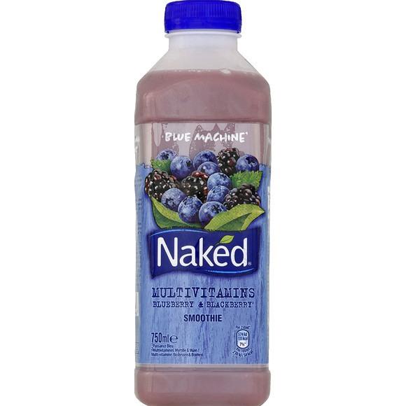 Smoothie Naked Blue Machine multivitamines - 75cl