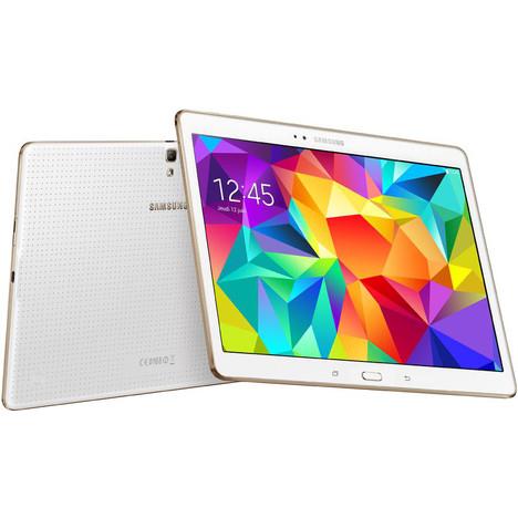 """Tablette 10,5"""" Samsung Galaxy Tab S  (avec 89,80€ sur la carte de fidélité et ODR 50€)"""