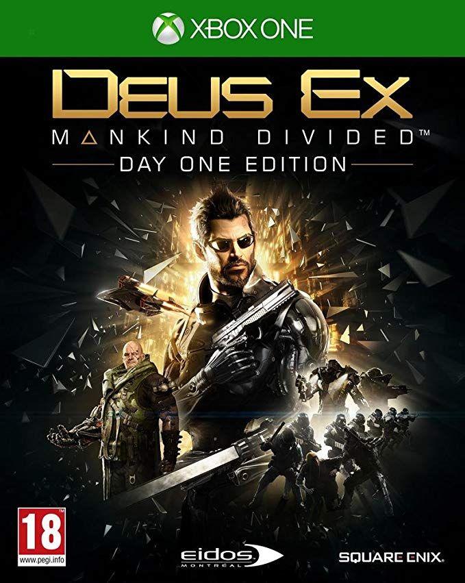 Jeu Deus Ex : Mankind Divided - édition day one sur Xbox One