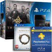 Console PlayStation 4 + The Order 1886 + The Elder Scrolls Online + PS Plus 3 mois