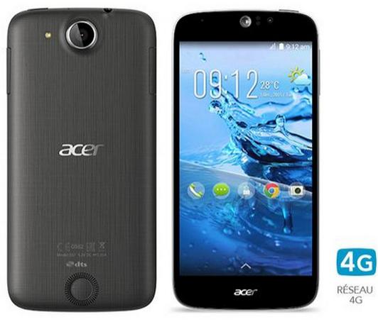 "Smartphone 5"" Acer Liquid Jade Z Noir (Lollipop, 4G, MediaTek MT6732 + Mali-T760, APN 13 MP...)"