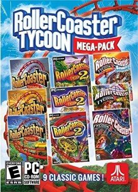 Rollercoaster Tycoon 1, 2 et 3 + toutes les extensions (Dématérialisé - Steam)
