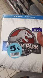 Coffret blu-ray Jurassic Park Collection - Carrefour Liévin (62)