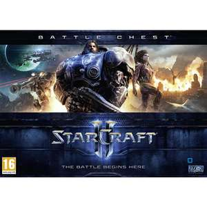 Starcraft Battle Chest (contient Wings of Liberty & Heart of the Swarm) sur PC/Mac