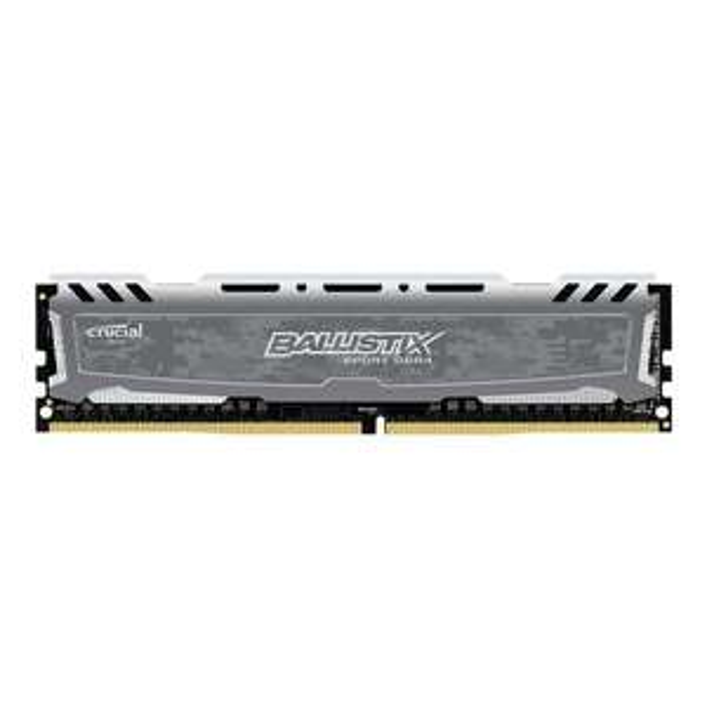 Kit mémoire RAM Crucial Ballistix Sport LT - DDR4, 8 Go, 2400 MHz, UDIMM