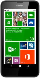 Smartphone Nokia Lumia 635 (avec ODR 50€) + 25€ d'applications offert
