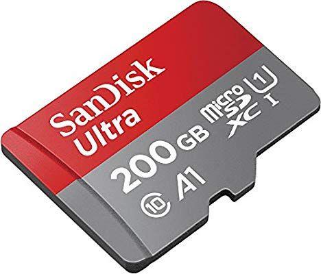 Carte microSDXC SanDisk Ultra - 200 Go