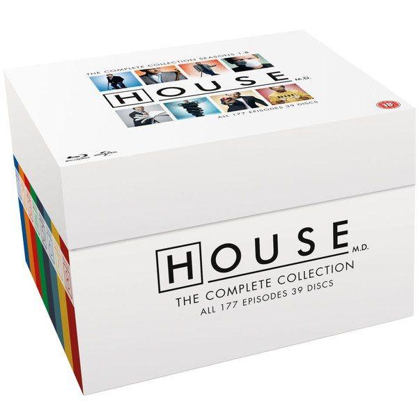 Coffret Blu-ray Dr. House - L'intégrale
