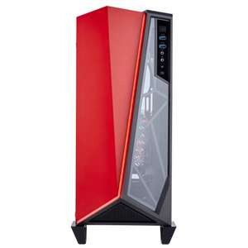 Boitier PC Gamer Corsair Carbide SPEC-OMEGA - Noir / Rouge