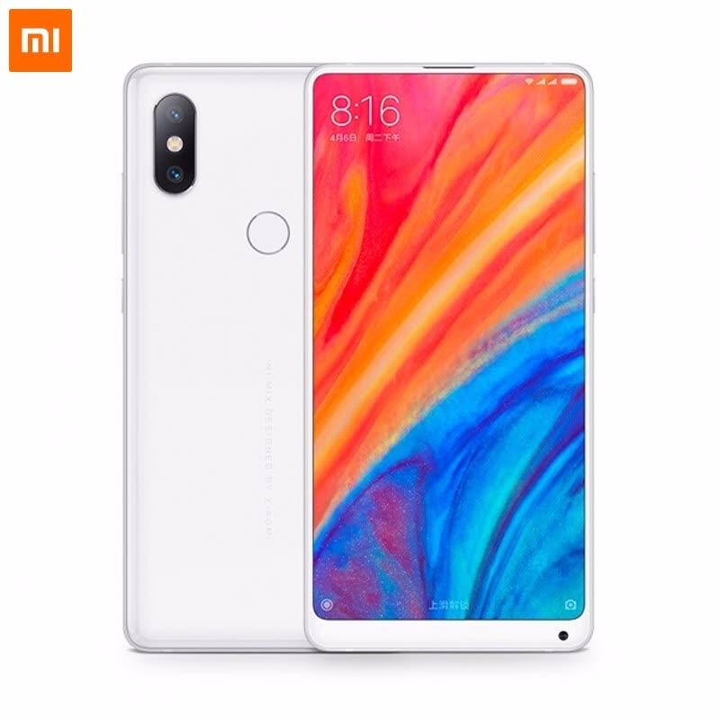 "Smartphone 5.99"" Xiaomi Mi Mix 2S (Global - Blanc ou Noir) - Full HD+, Snapdragon 845, ROM 128 Go, RAM 6 Go (B20 + B28)"