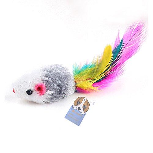 Pack de 5 petites souris pour chat (Vendeur tiers)