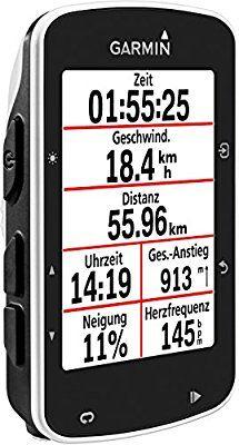 Compteur GPS de vélo connecté Garmin Edge 520 - Noir